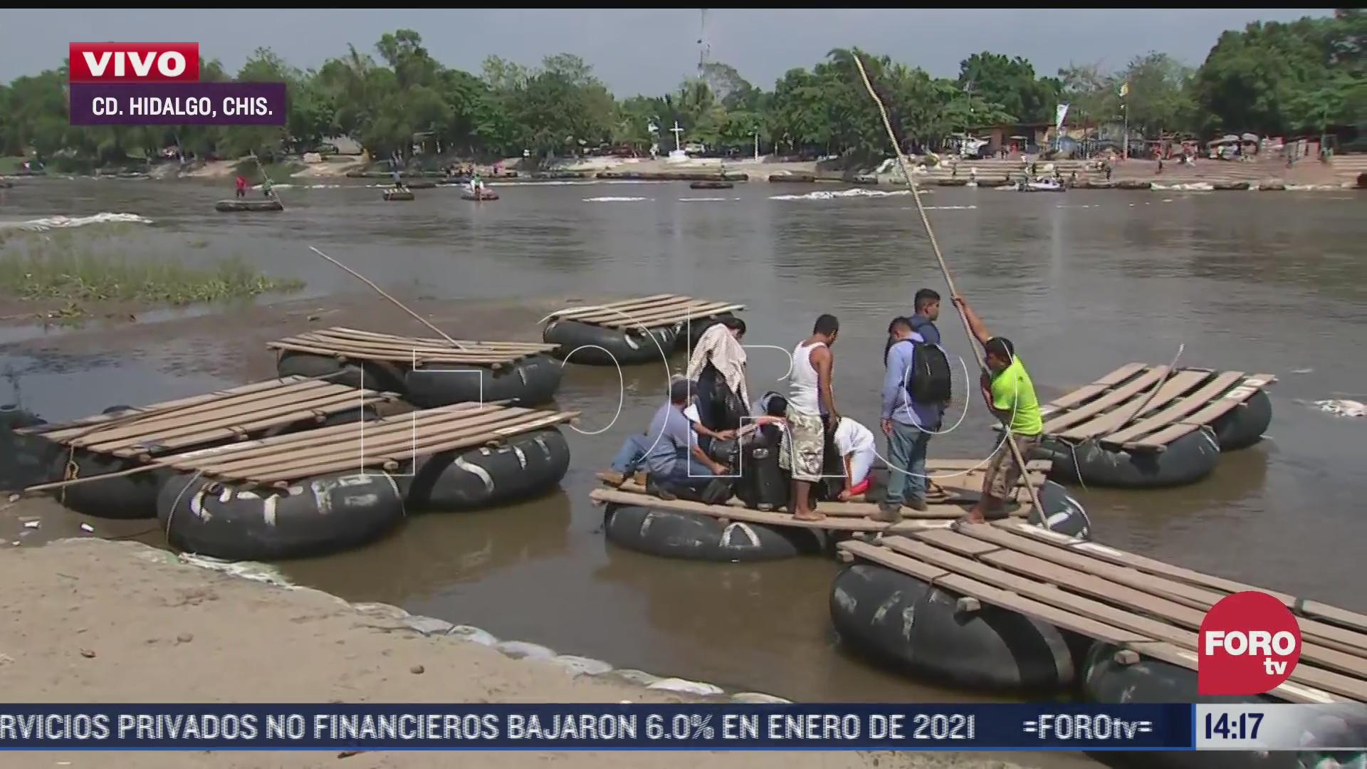 continua trafico irregular de migrantes en frontera con guatemala