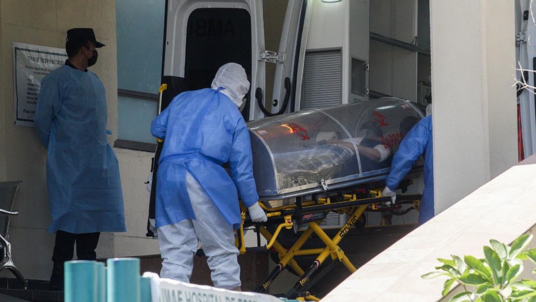 Los casos de COVID-19 en México el 6 de marzo 2021