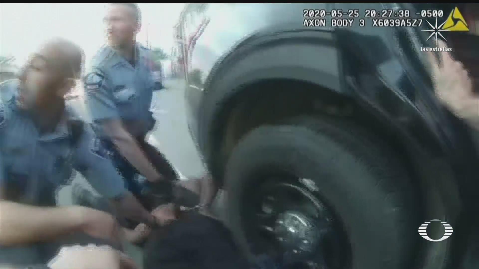 dan a conocer nuevo video del arresto de george floyd