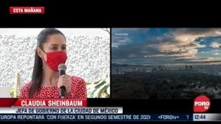 desconocia sheinbaum nominacion como mejor alcaldesa del mundo