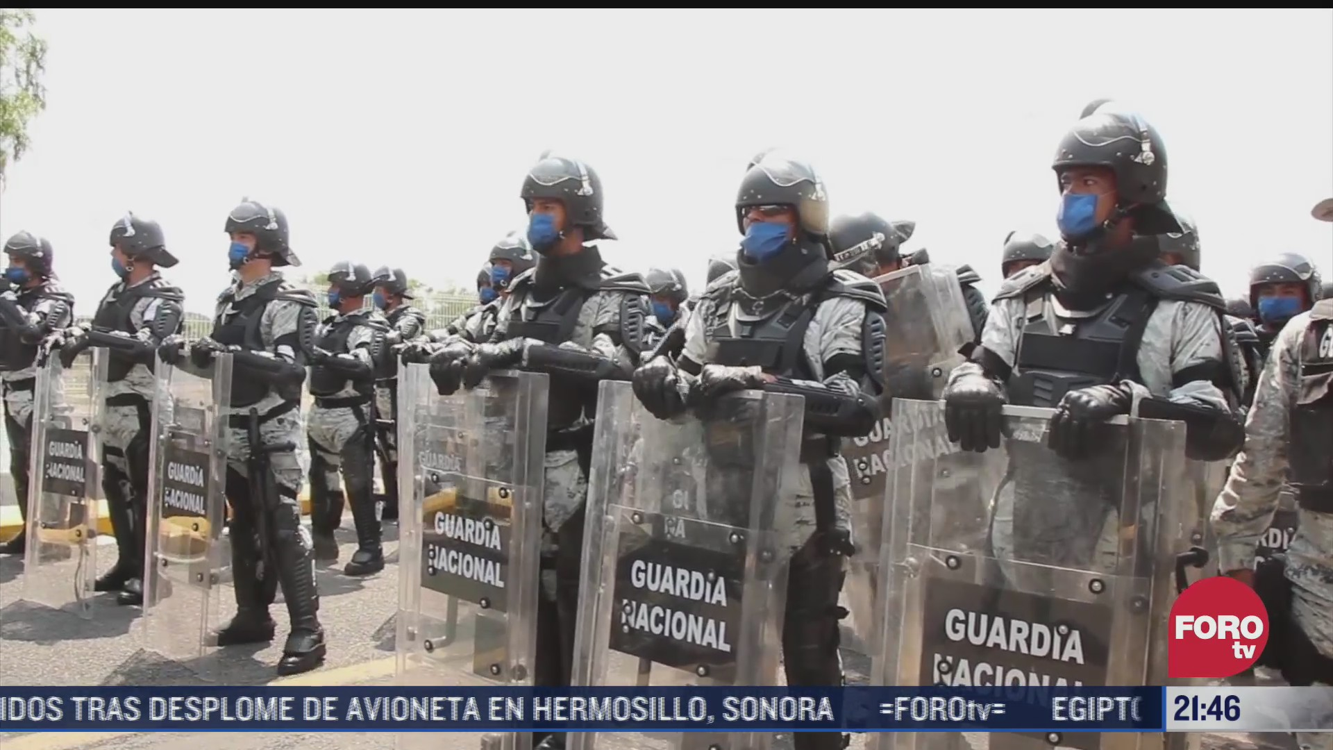 desplegaran mas de 2 mil efectivos en frontera con guatemala