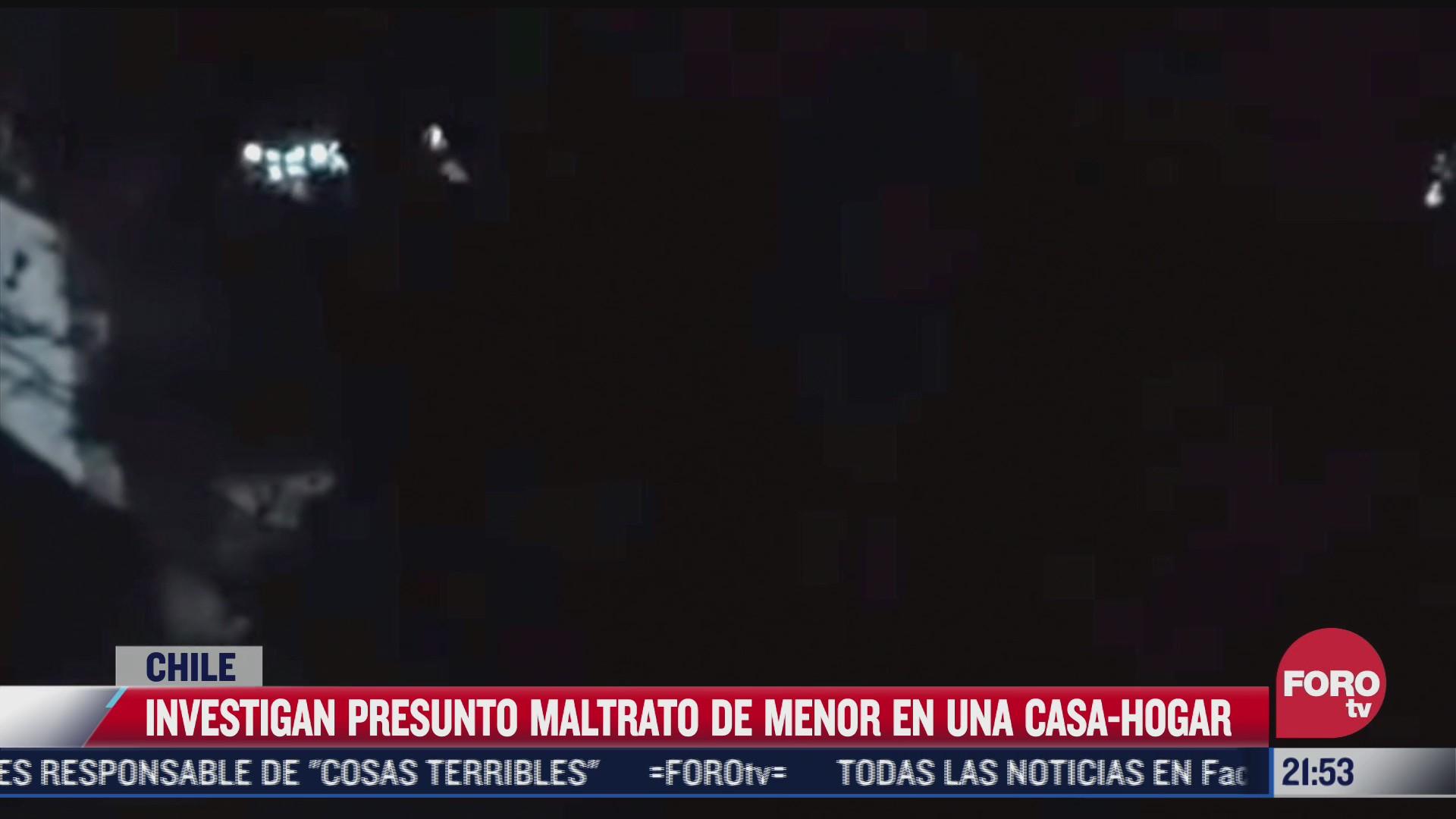 difunden presunto caso de maltrato a menor de edad en casa hogar de chile