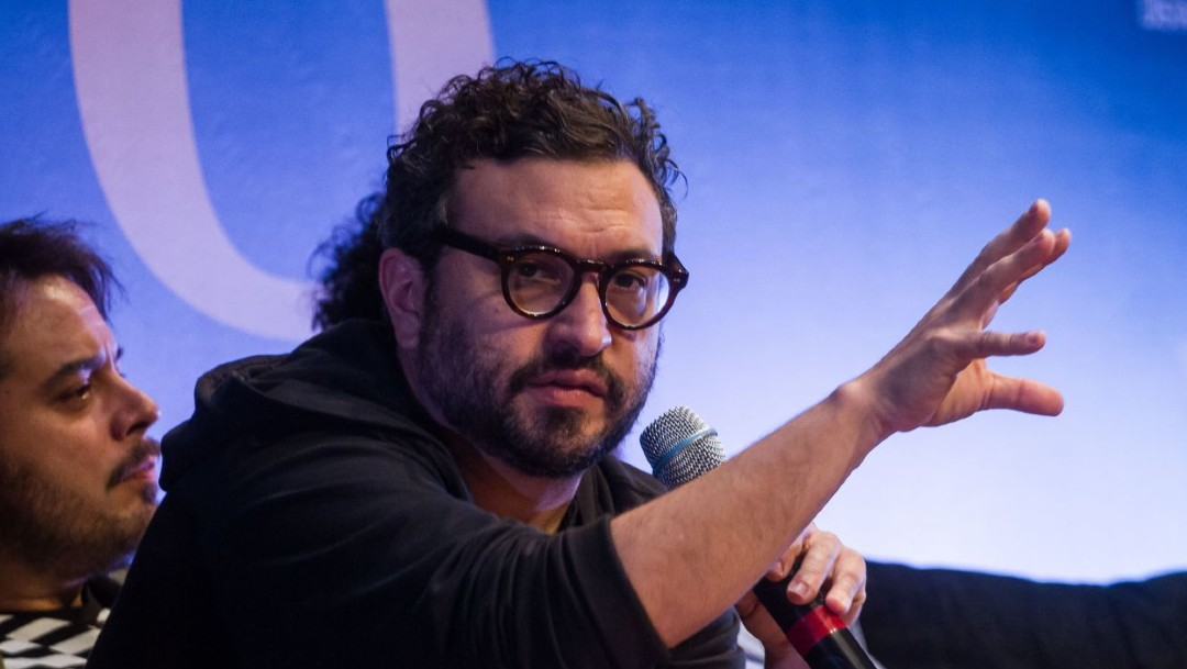 El director de cine mexicano Alonso Ruizpalacios