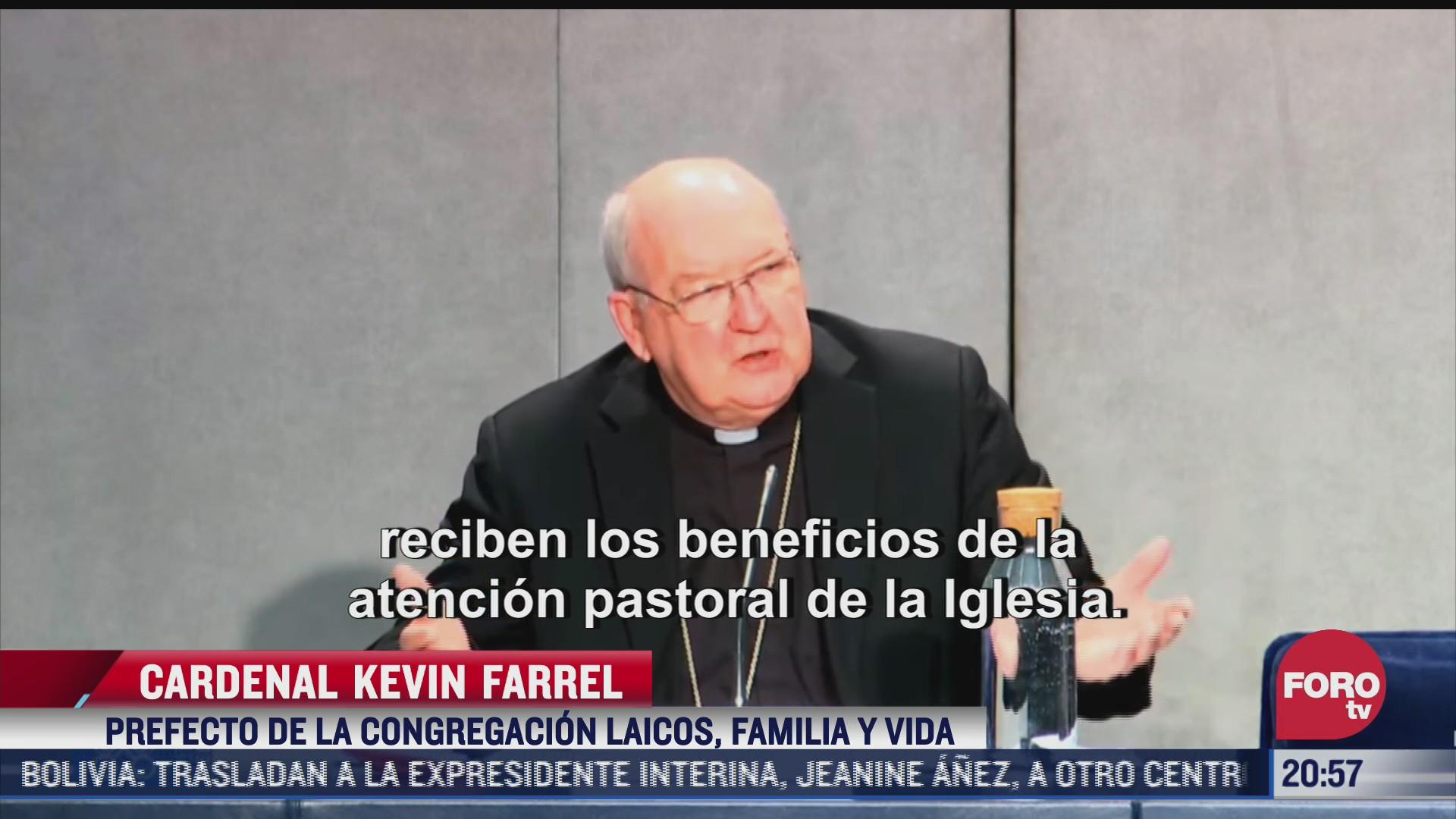 el vaticano aclara postura sobre matrimonio religioso