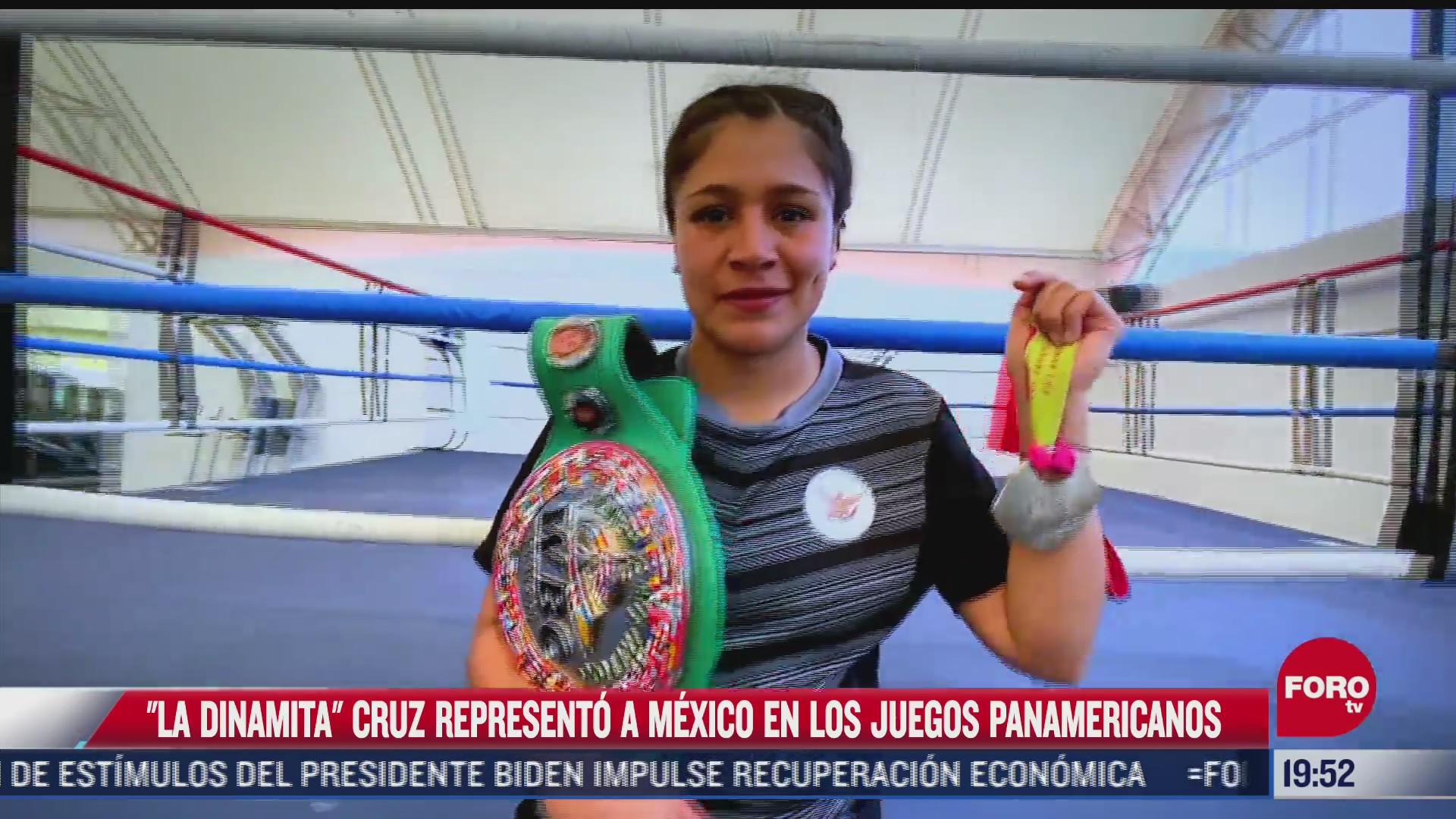 ella es dinamita cruz una mujer boxeadora