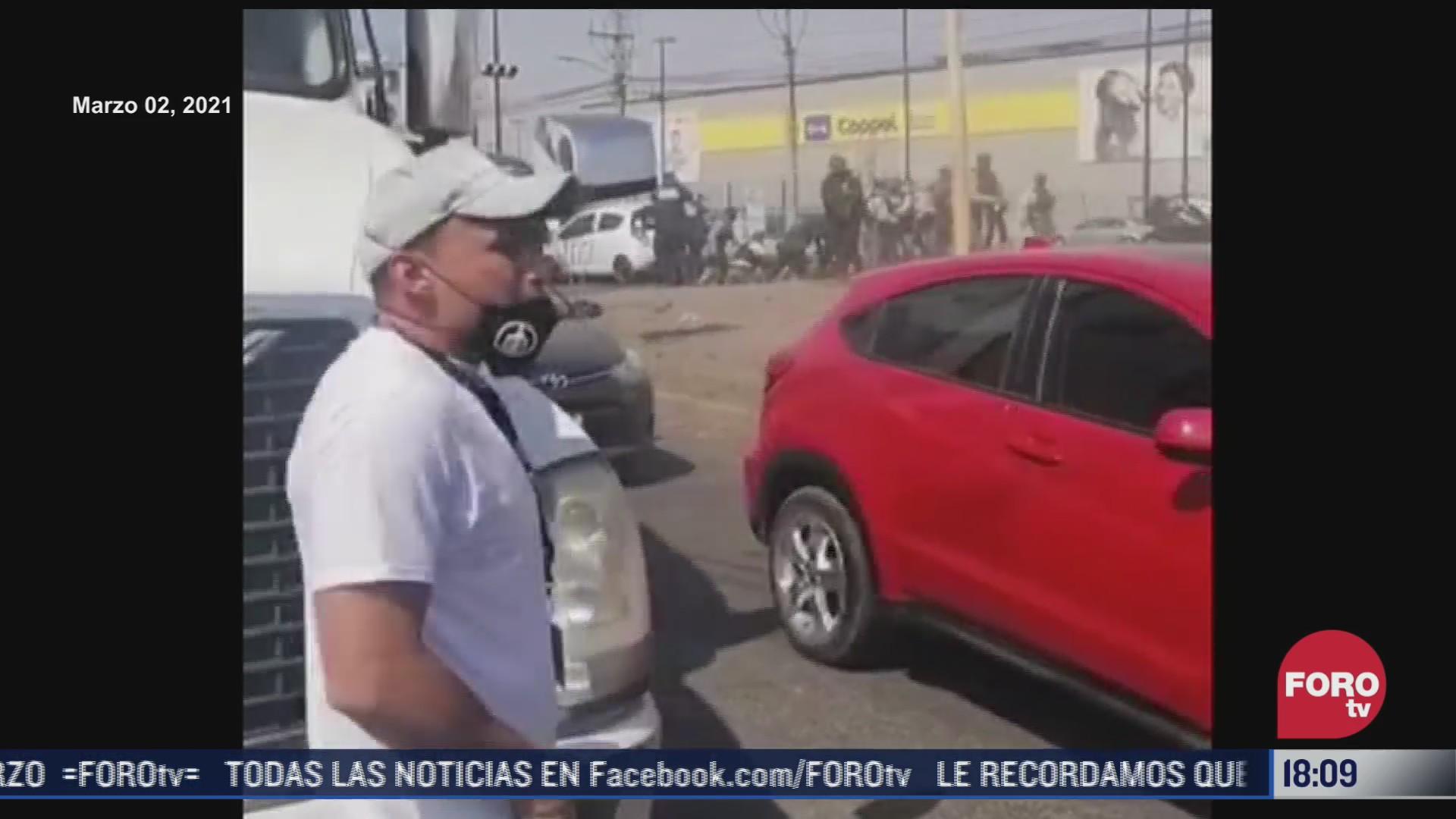 enfrentamiento entre policias y tianguistas de tecamac fue causado por extorsionadores