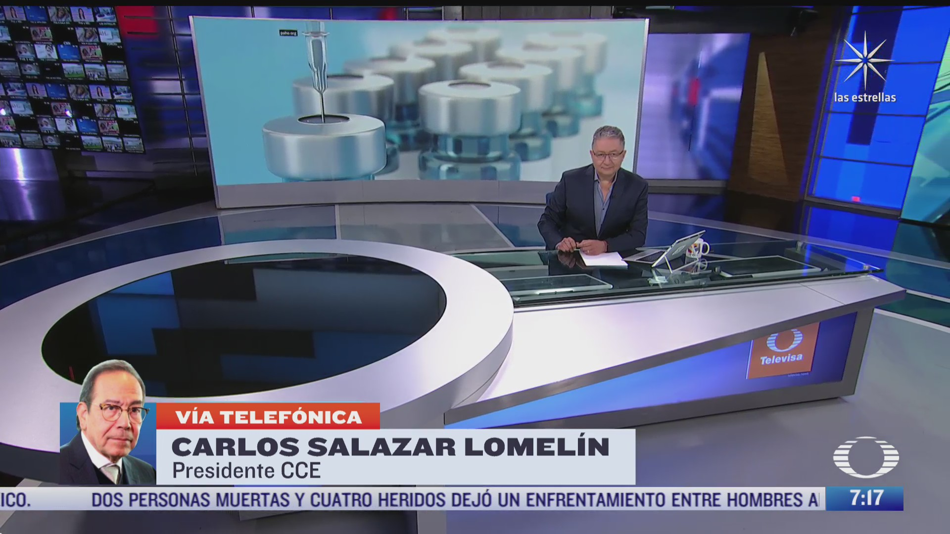 entrevista a carlos salazar lomelin presidente del cce para despierta