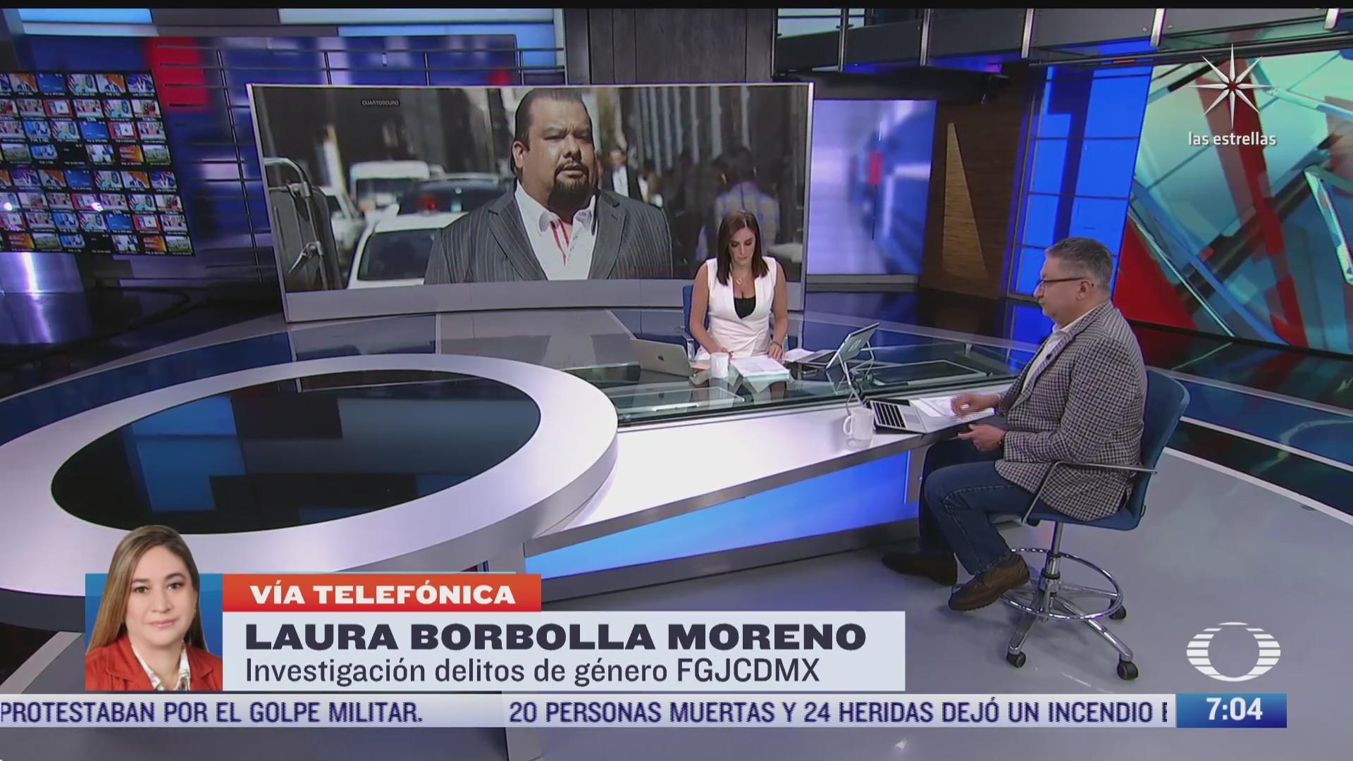 entrevista con laura borbolla moreno funcionaria de fgjcdmx sobre delitos de genero para despierta