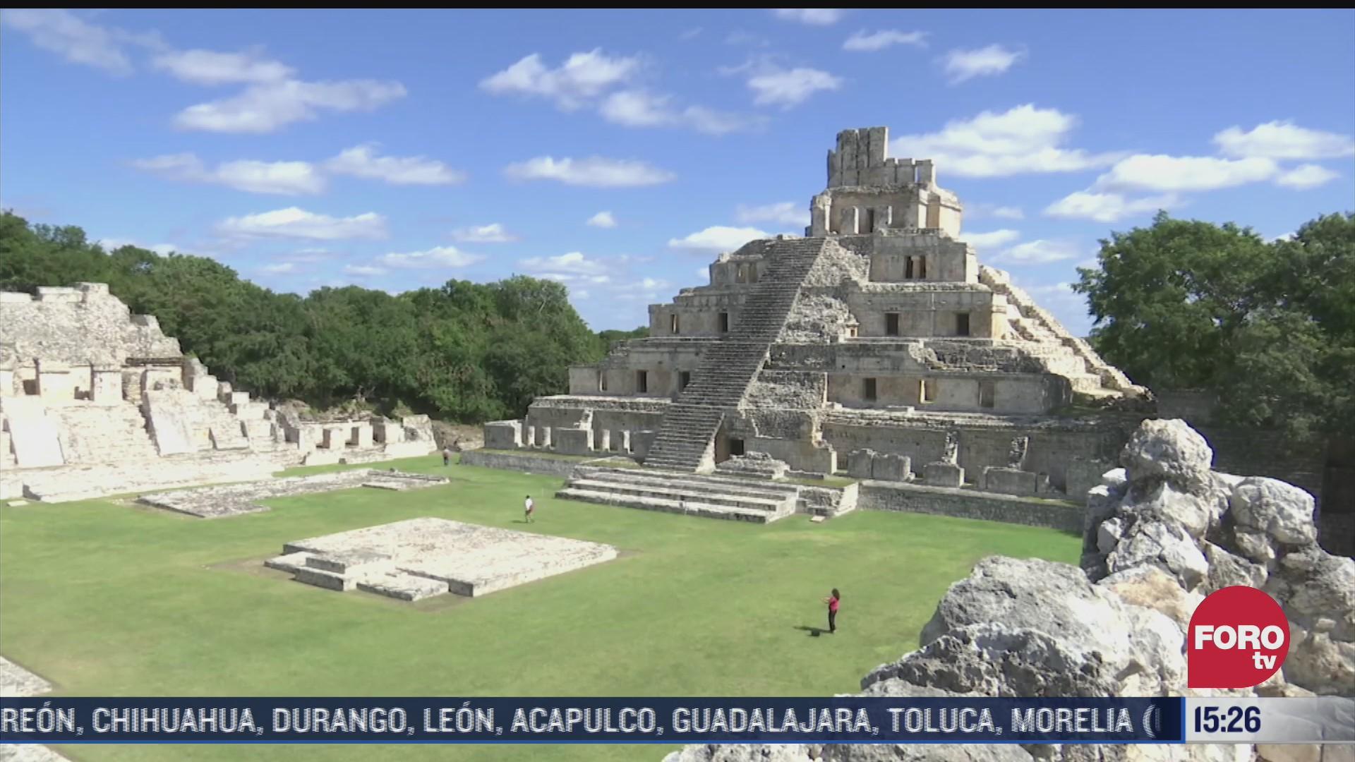 equinoccio de primavera sin visitantes en yucatan