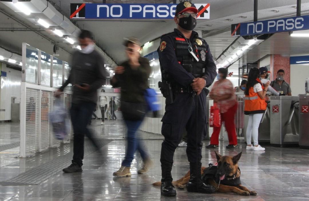 Cierran-estación-Pino-Suárez del-Metro-durante-marcha