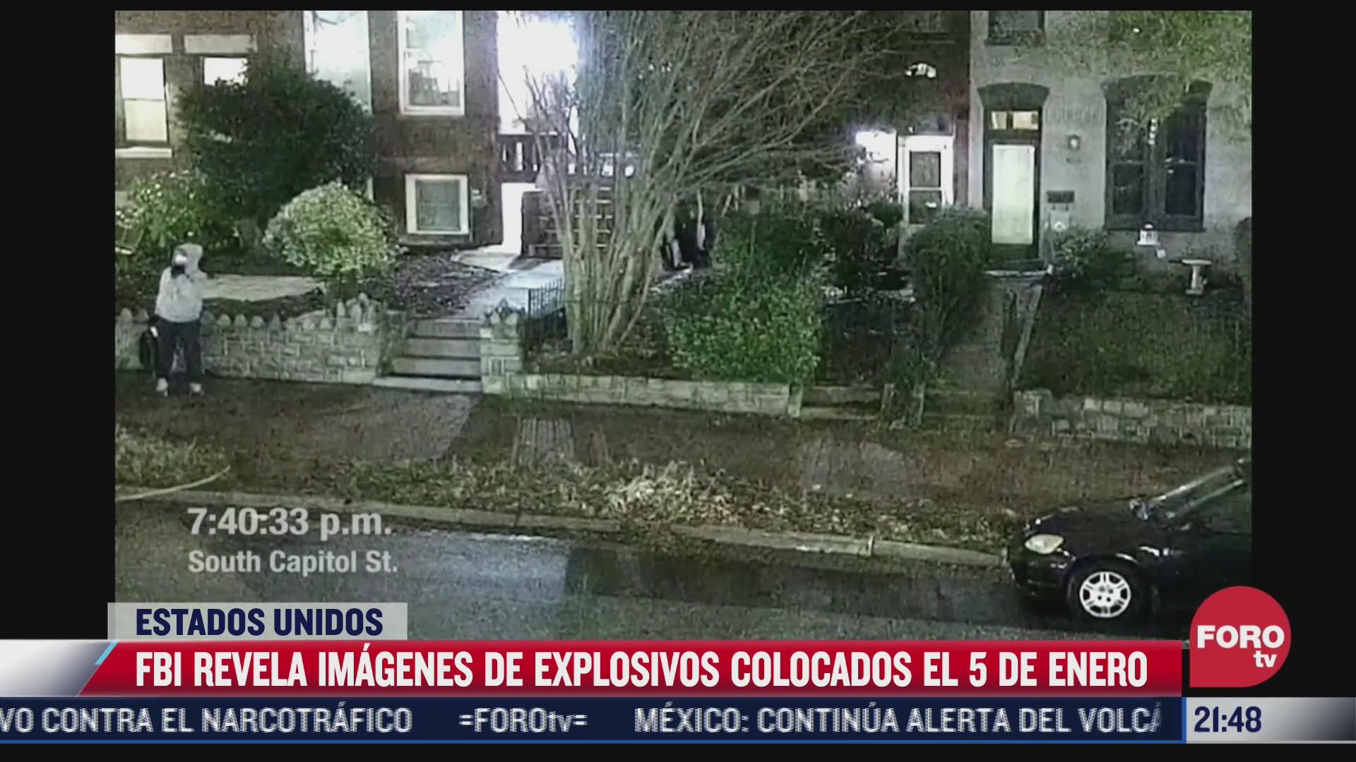 fbi revela imagenes de explosivos colocados en inmediaciones del capitolio de eeuu