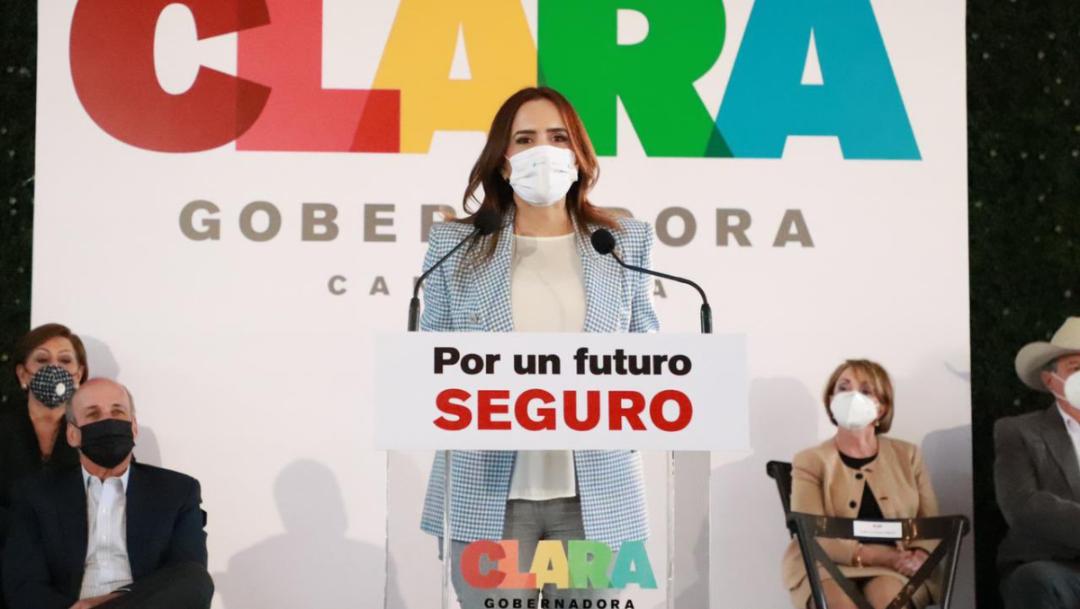 Durante la contienda electoral, la candidata por la gubernatura de Nuevo León, Clara Luz Flores, indicó las apuestas que tiene para la entidad