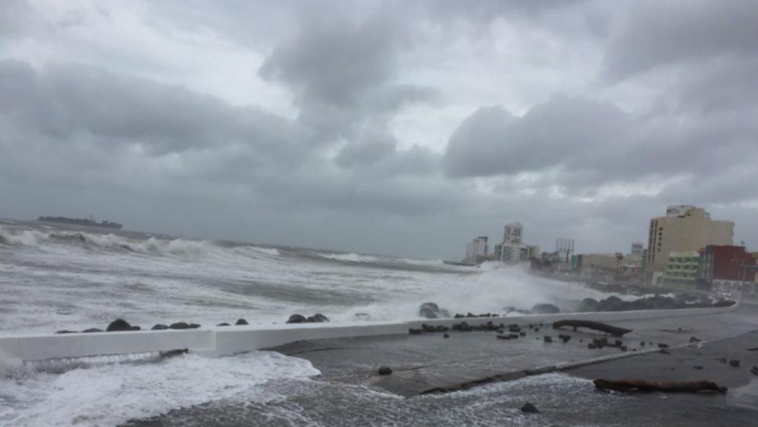 Frente Frío 47 provocará evento de Norte y oleaje en Tamaulipas y Veracruz