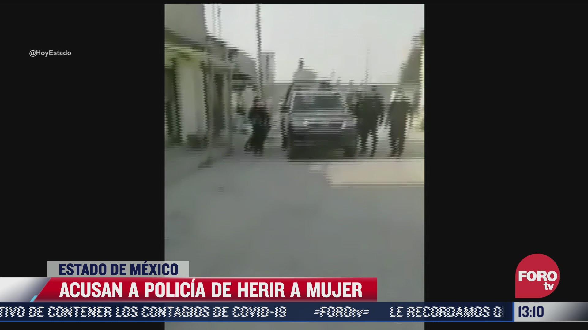 habitantes de chimalhuacan acusan a policia de herir a una mujer