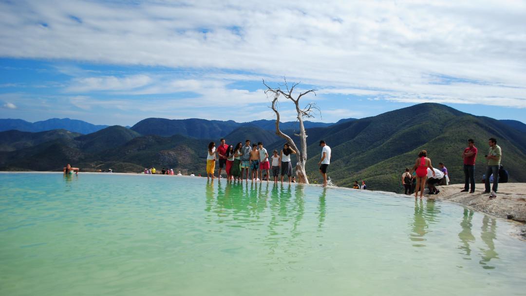 Oaxaca, Hierve el Agua, turismo, destinos