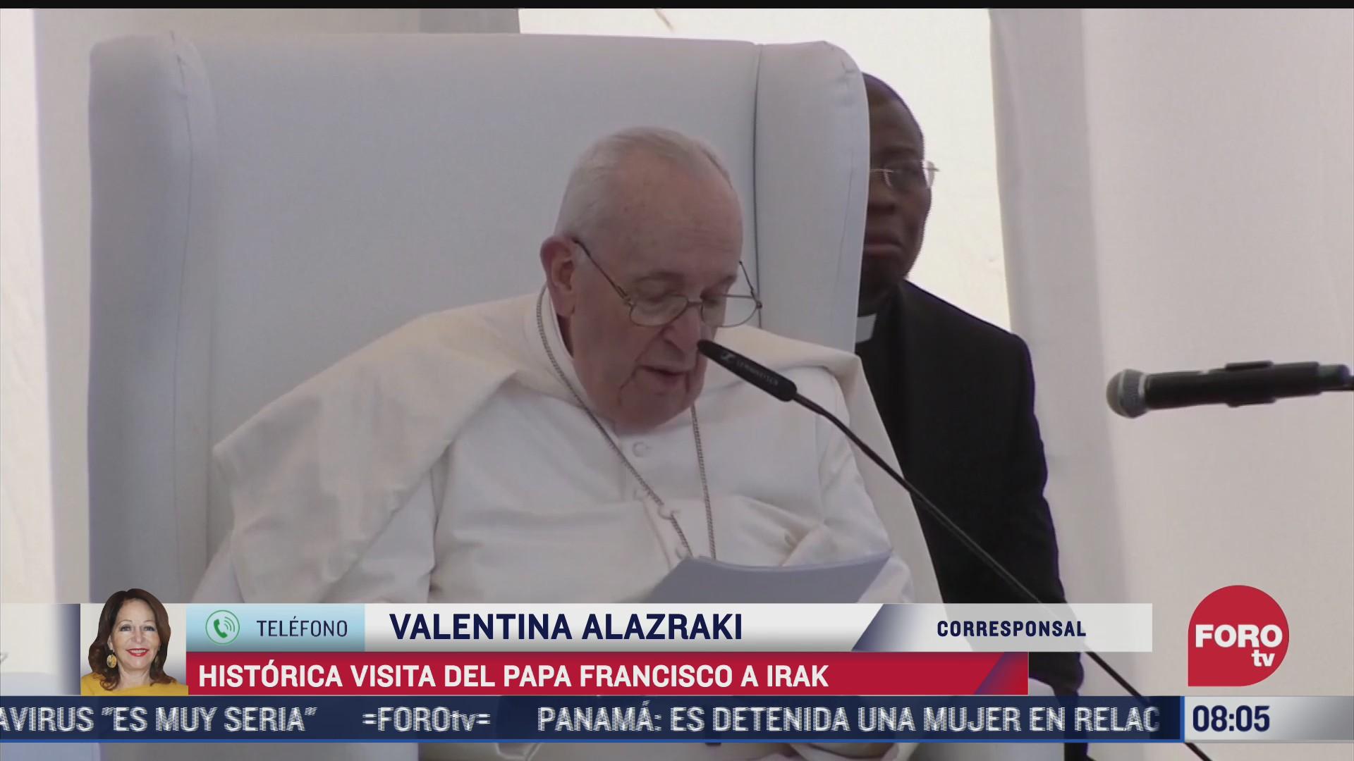 historica visita del papa francisco a irak