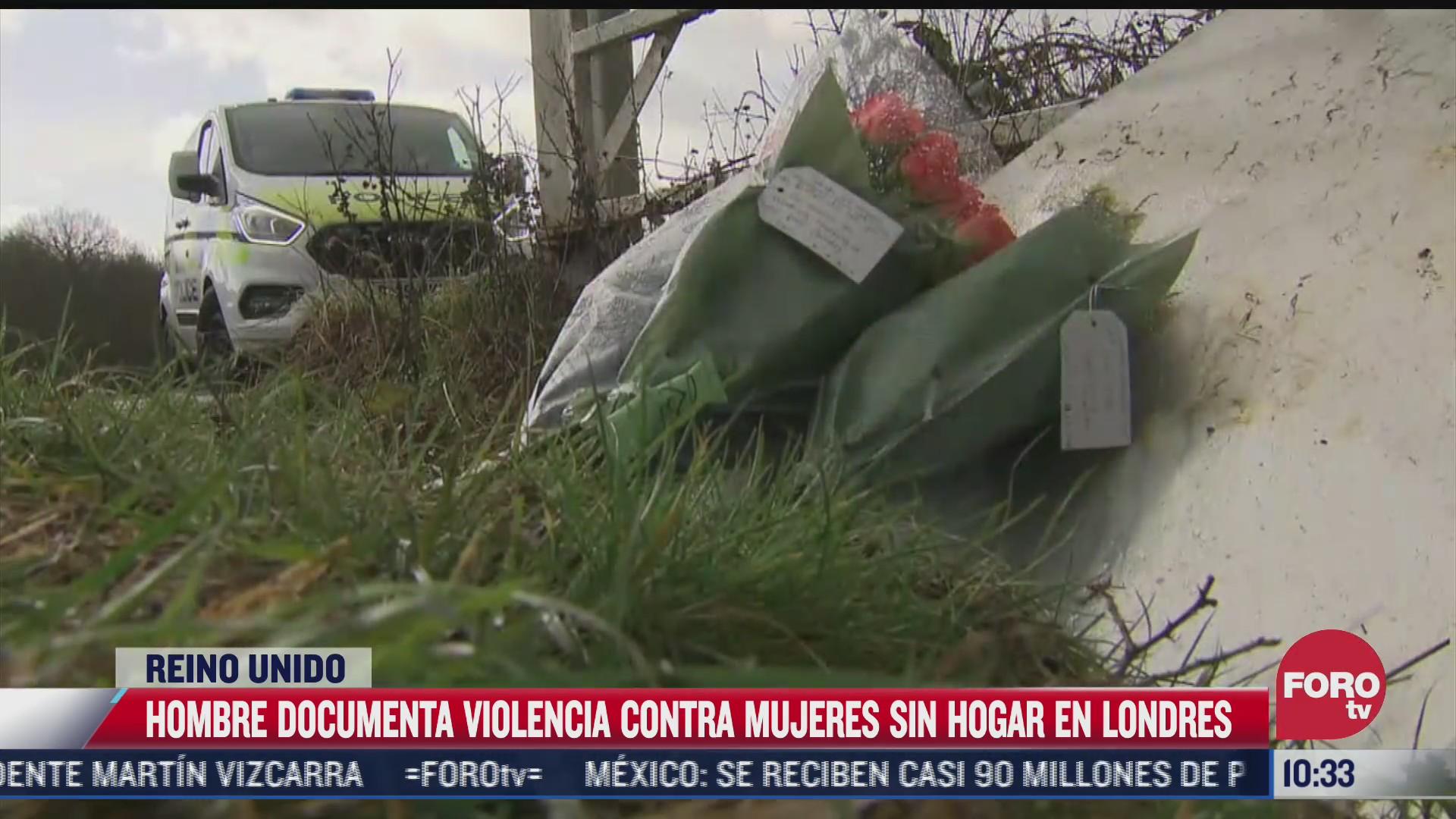 hombre documenta violencia contra mujeres sin hogar en londres