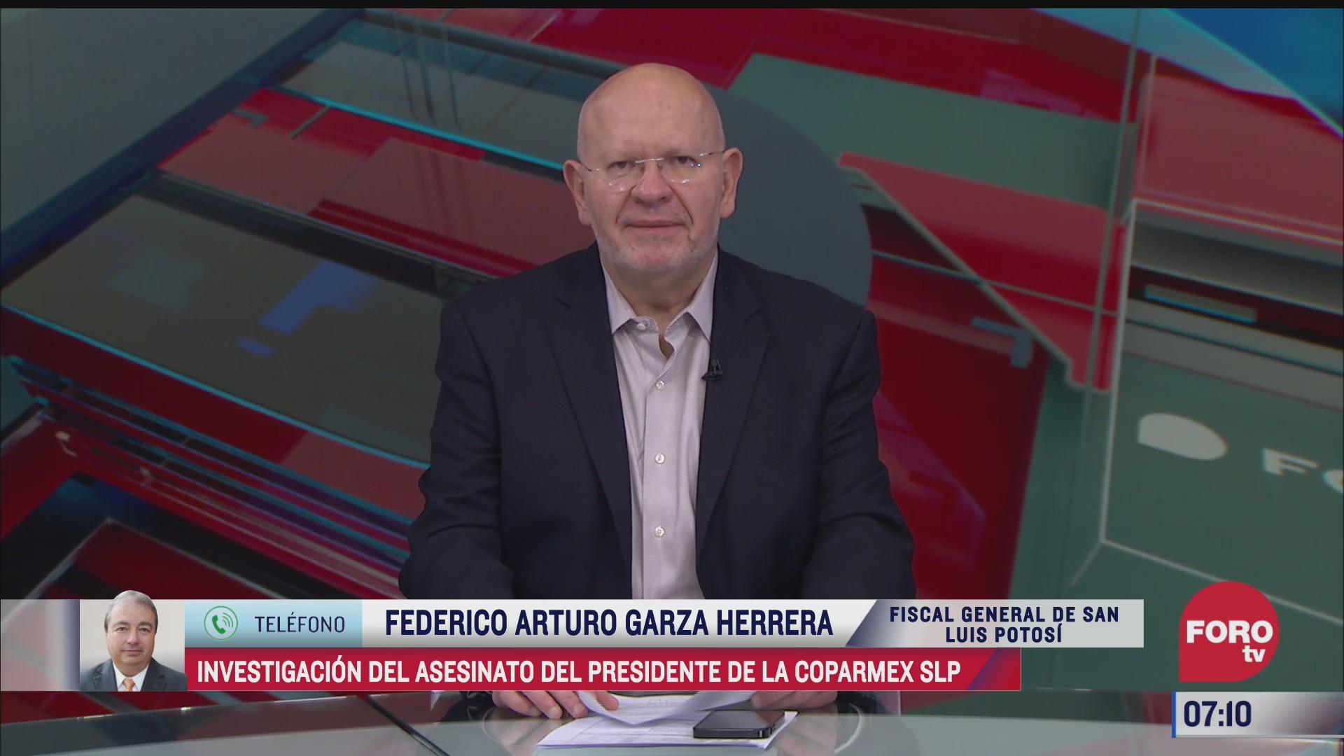 investigacion sobre el asesinato del presidente de la coparmex en san luis potosi