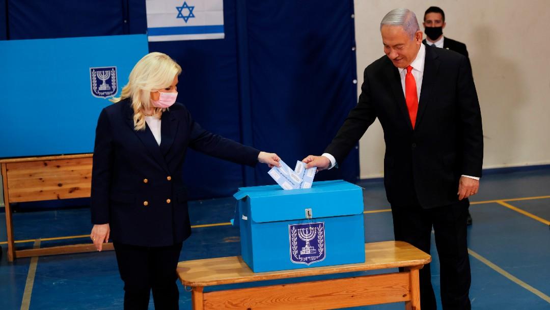 Israel vota en elecciones parlamentarias futuro de Netanyahu