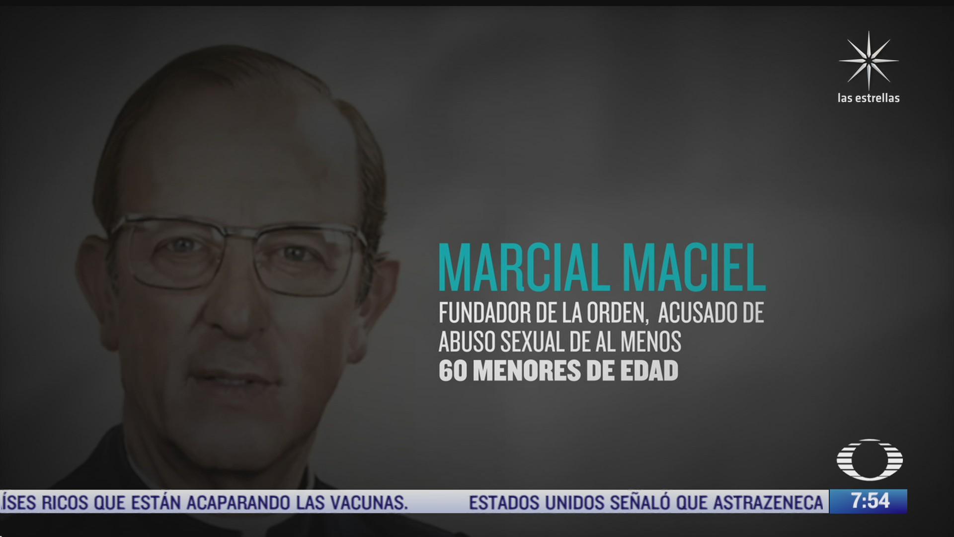 legionarios de cristo publica informe sobre abusos sexuales