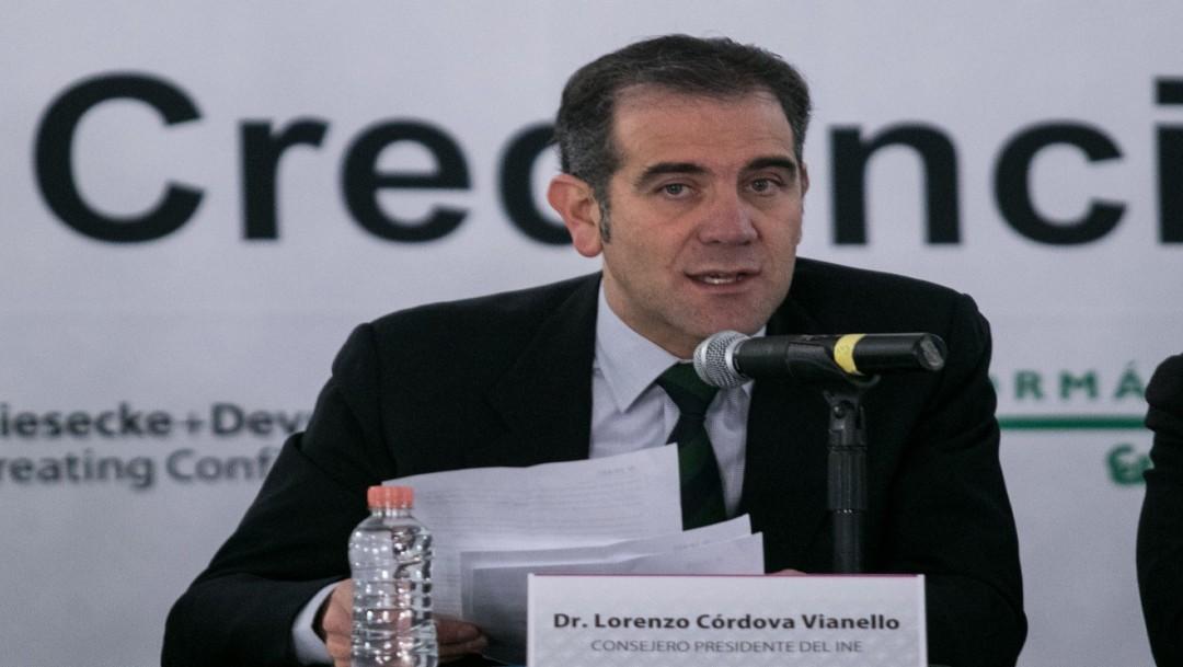 Elecciones no actuan a favor o en contra de algún contendiente: Lorenzo Córdova