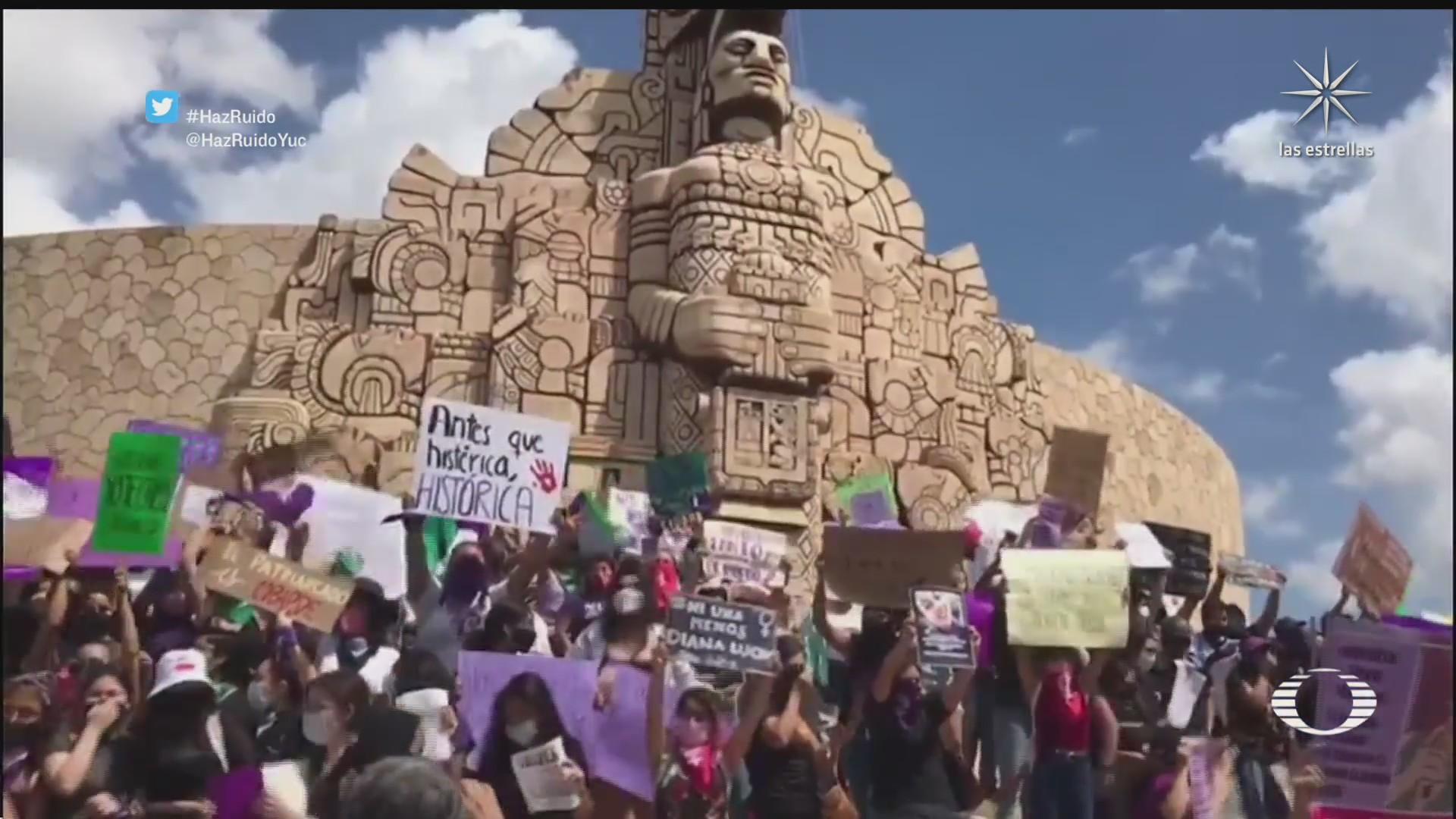 manifestaciones por el 8m se replican en varios estados