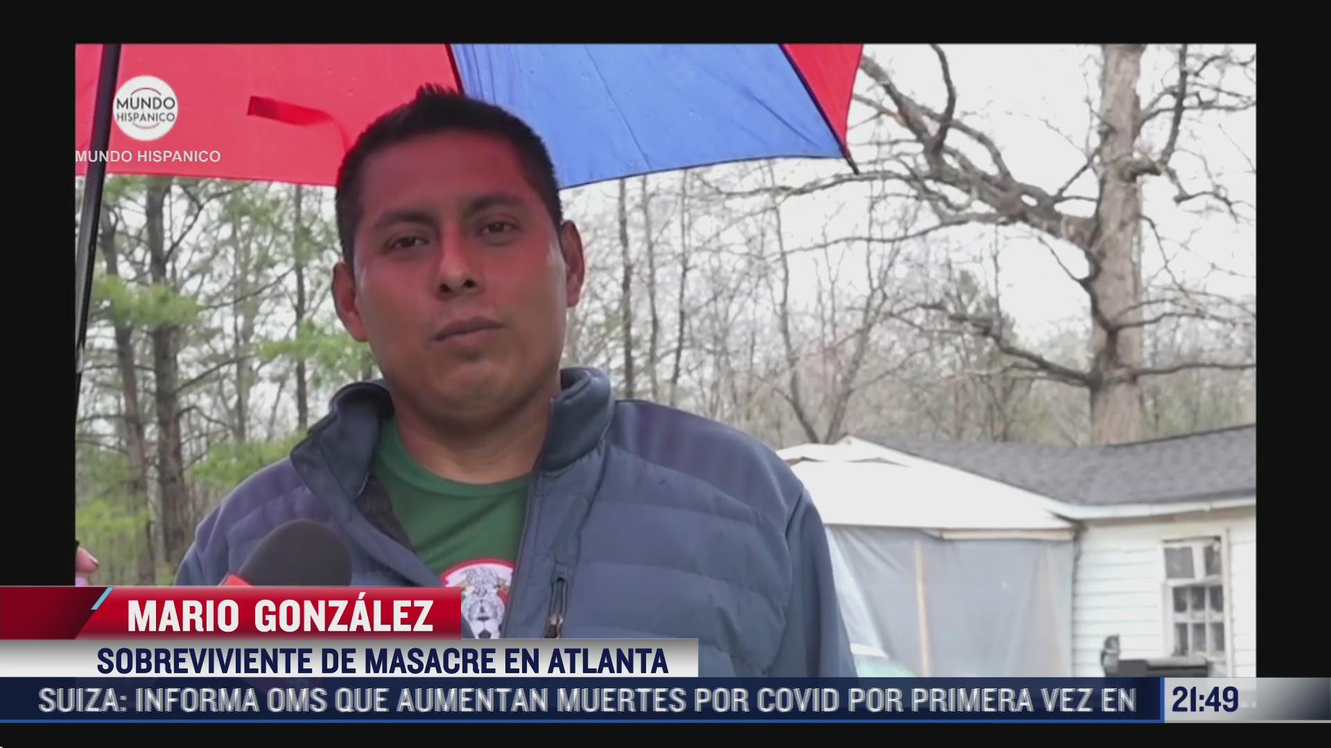 mexicano sobreviviente de tiroteo en atlanta recibio malos tratos de policias