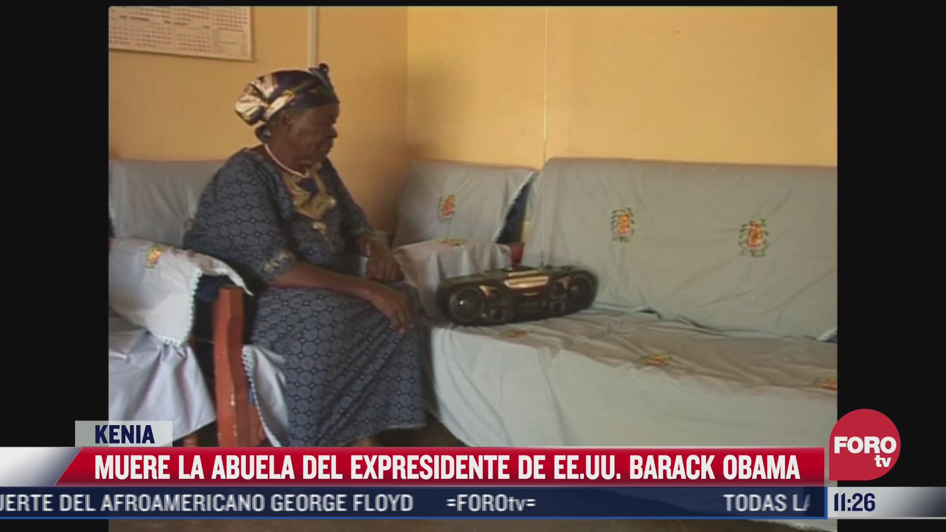 muere abuela de barak obama