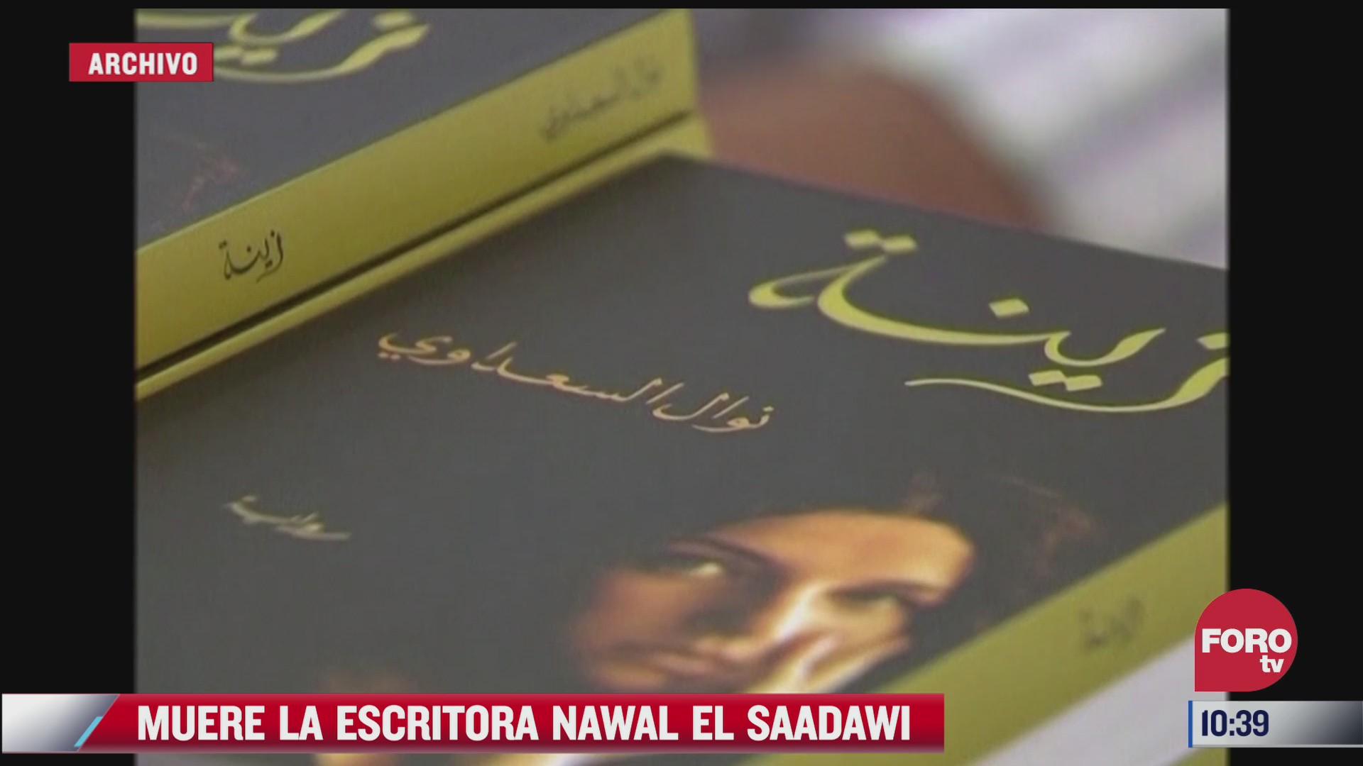 muere nawal el saadawi escritora egipcia mas influyente del siglo xx