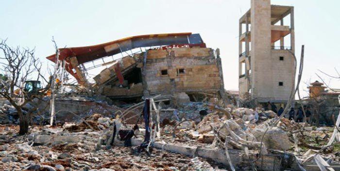 Mueren cinco personas en ataque a hospital de Siria