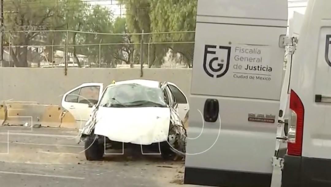 Una persona muere tras un choque en Avenida Ignacio Zaragoza (FOROtv)