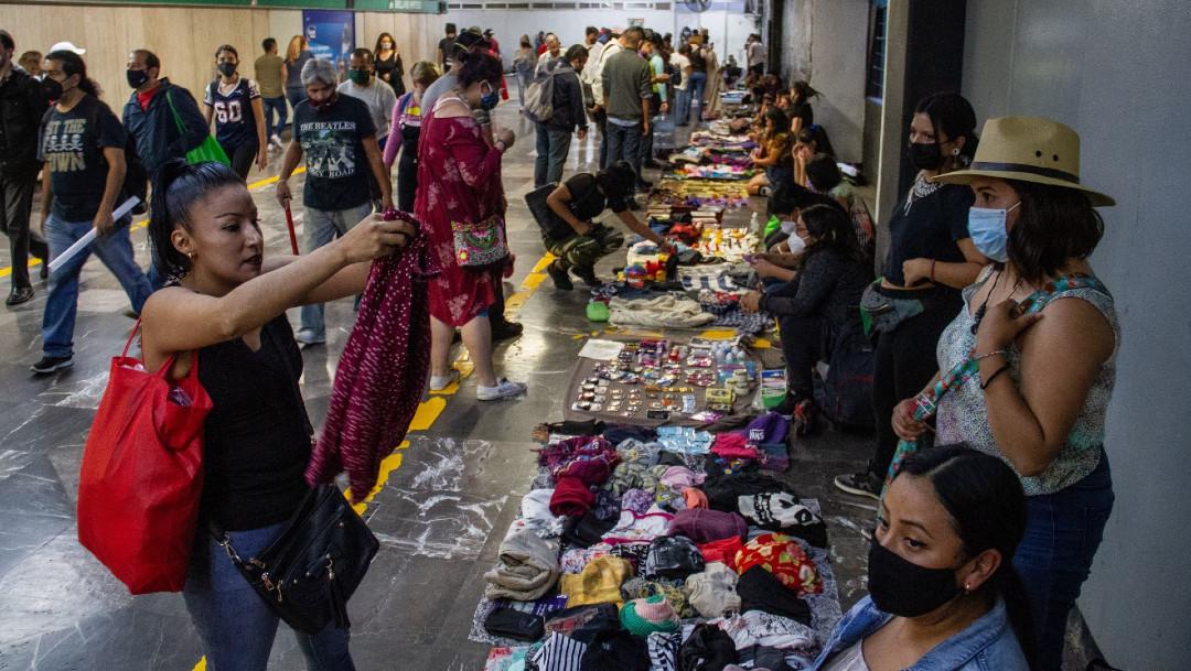 nenis, feministas, comercios, metro