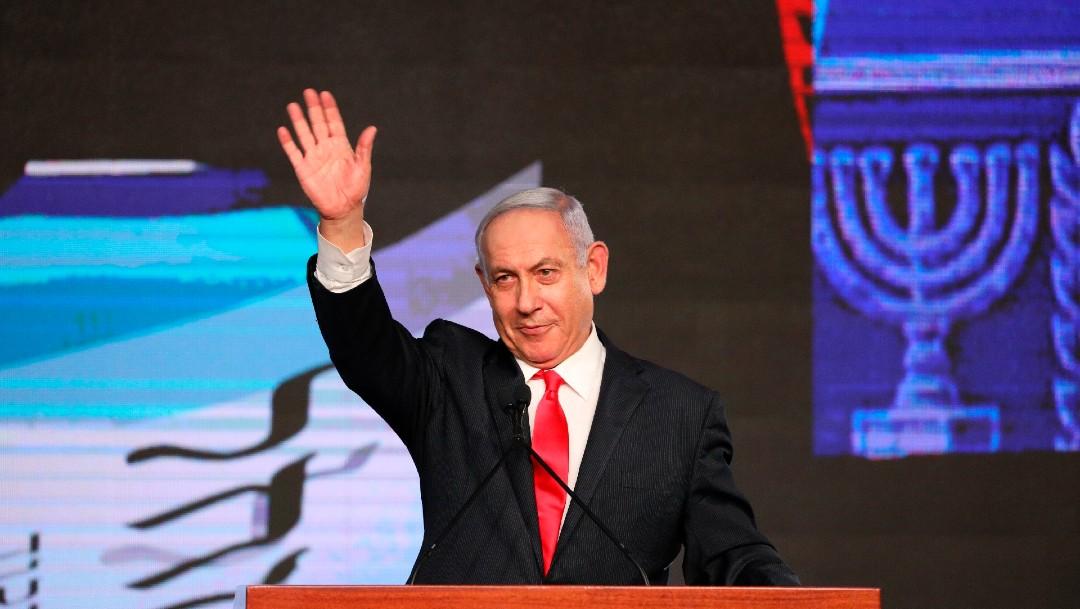 Netanyahu tendría una ajustada mayoría para gobernar, con el 70% escrutado