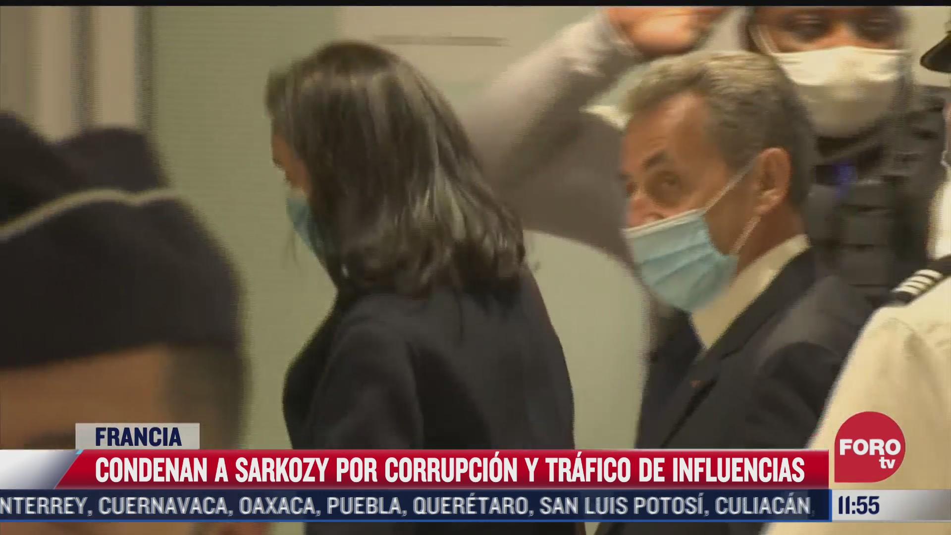 nicolas sarkozy expresidente de francia condenado a prision por corrupcion