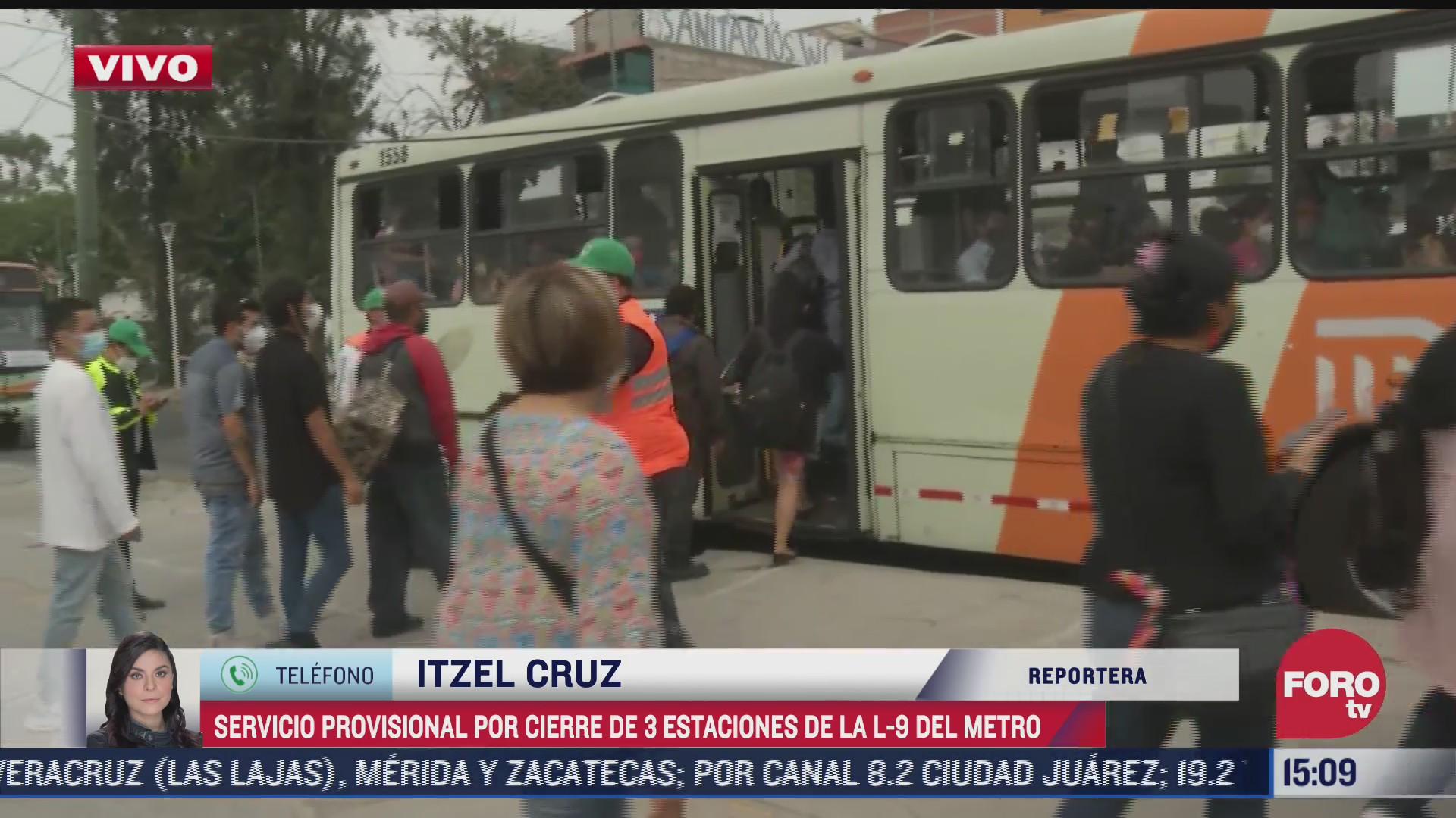 noventa unidades del rtp ofrecen servicio emergente ante cierre de estaciones del metro