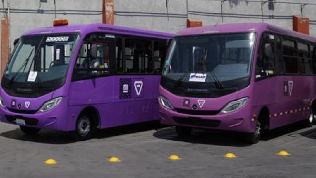 Nuevos Cicrobuses 2021 CDMX Foto