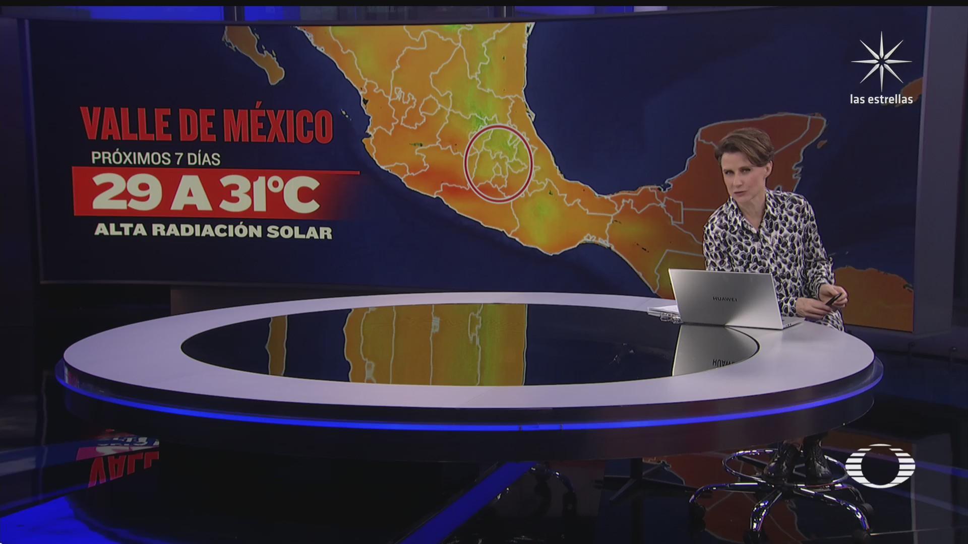 calor afecta occidente, centro y sur de México