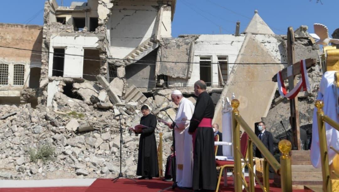 Papa Francisco pide respeto a las mujeres y por las víctimas de la guerra