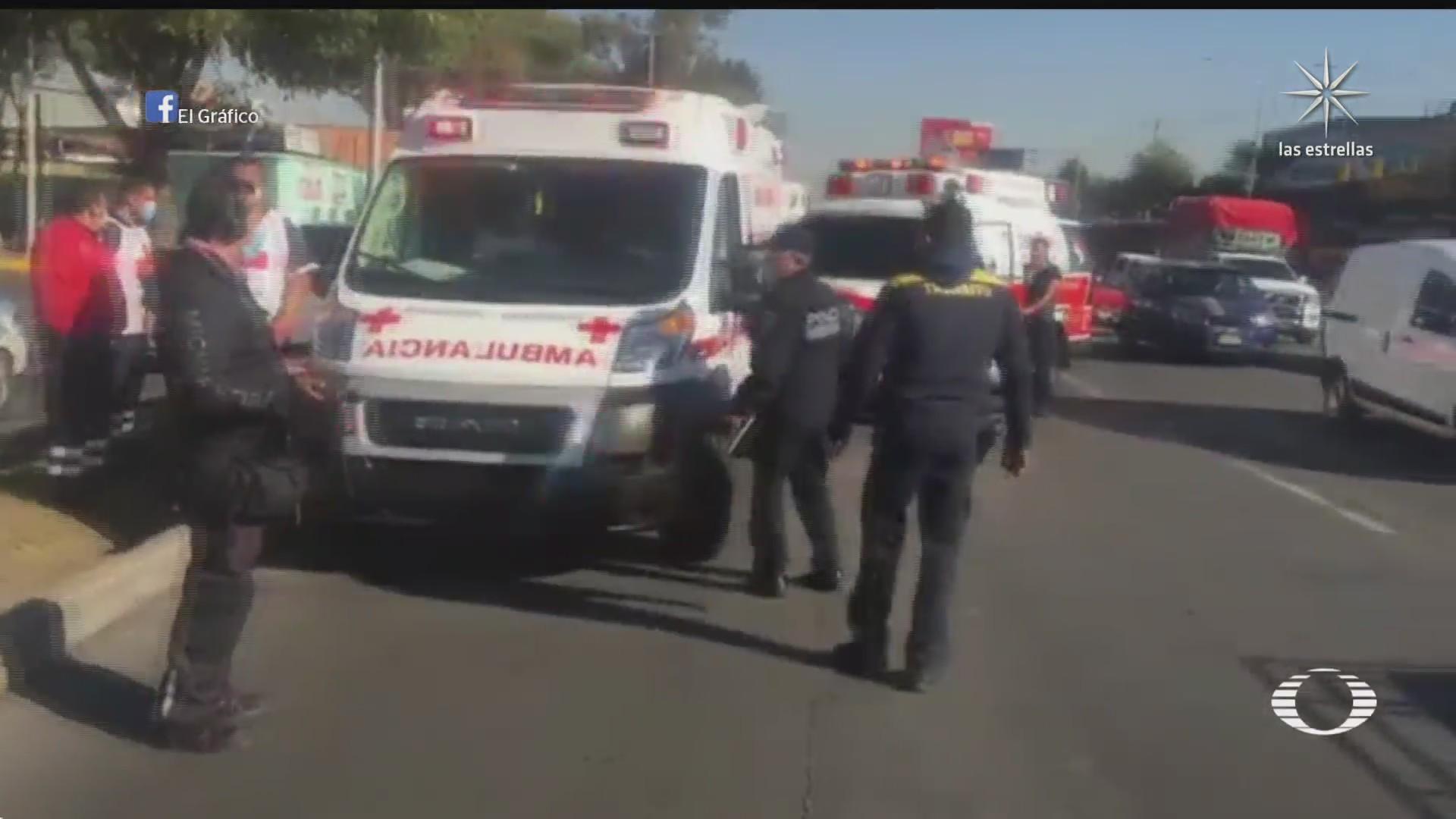 paramedicos pelean por paciente