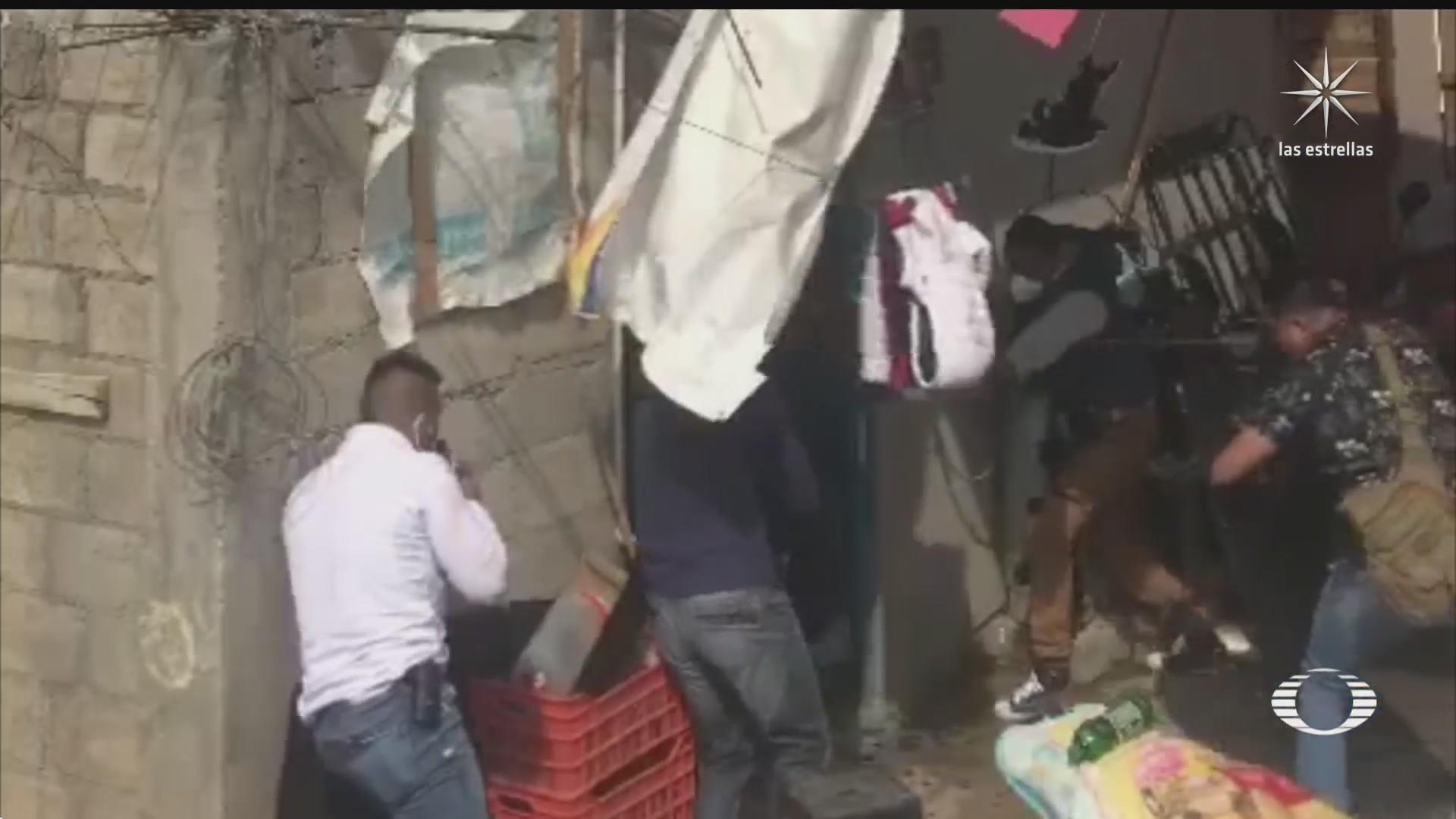 policias del edomex rescatan a menor secuestrada