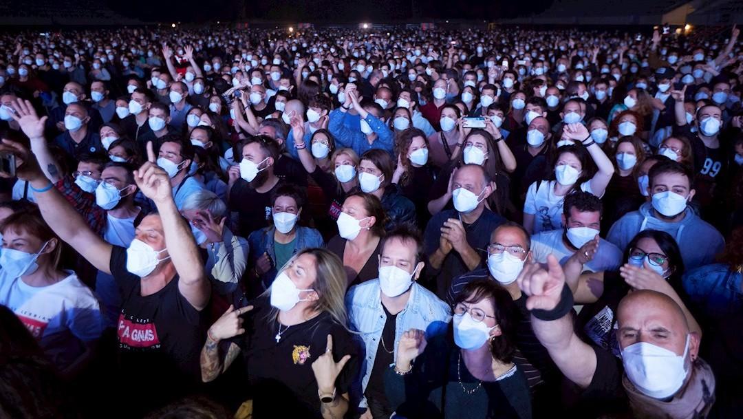 Realizan concierto en vivo para un ensayo clínico en Barcelona