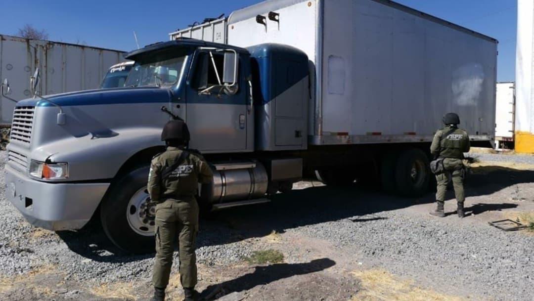 Recuperan vehículos robados en Guanajuato en operativo aéreo