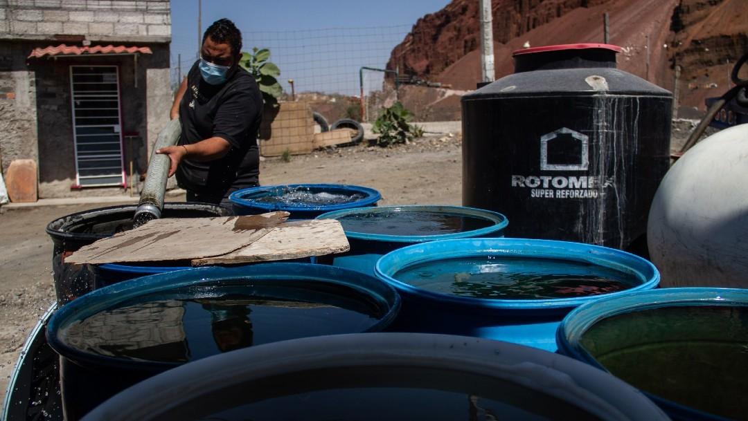 Reducirán agua en CDMX y Estado de México 25 y 26 de marzo