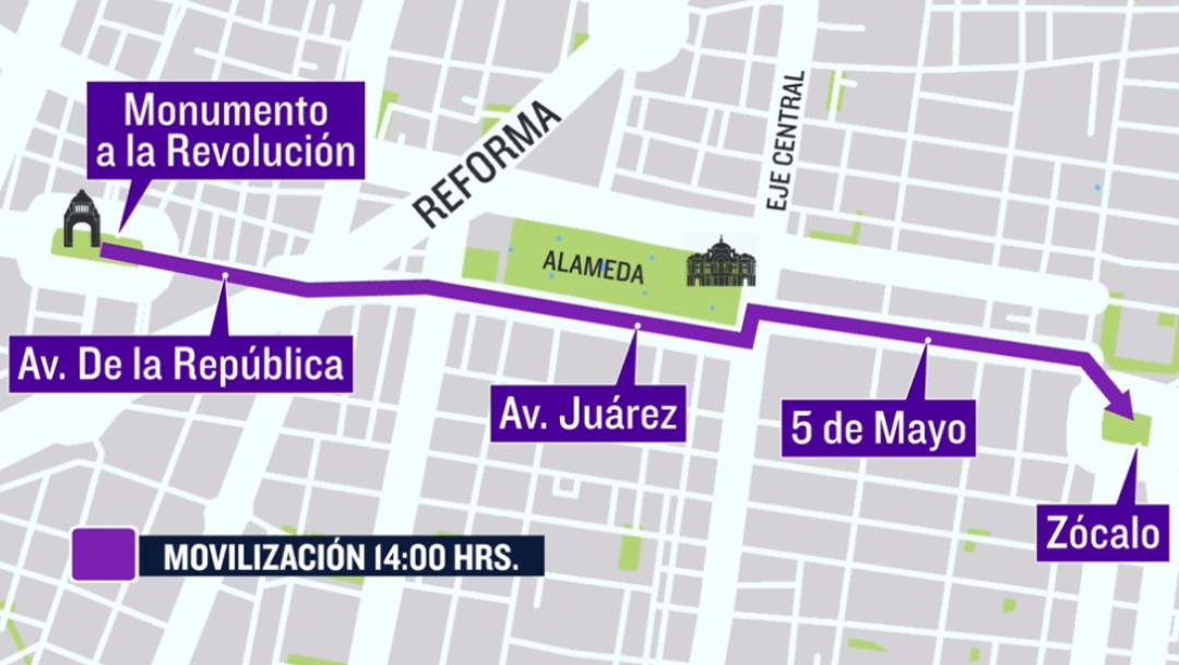 Marcha 8M 2021 por el Día de la Mujer: Rutas y horarios