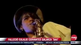sax de la maldita vecindad uno de los mejores saxofonistas del mundo