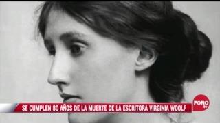 se cumplen 80 anos de la muerte de la escritora virginia woolf