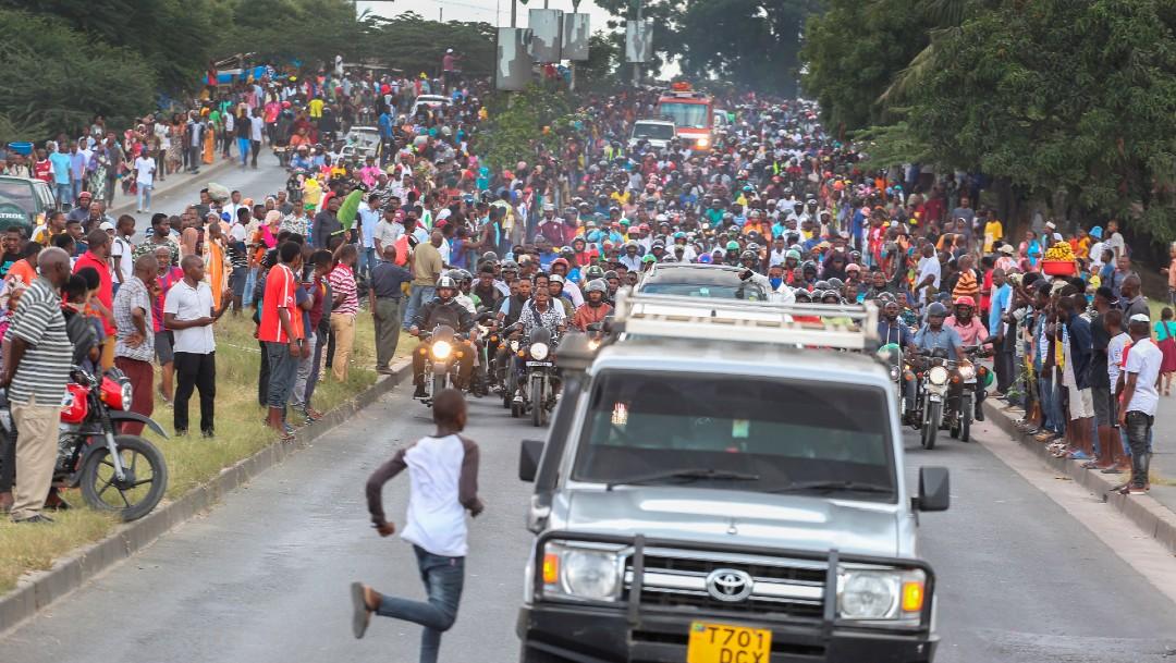 Se elevan a 45 los muertos en estampida durante velatorio por Magufuli en Tanzania