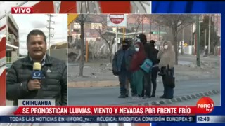 se pronostican lluvias vientos y nevadas en chihuahua