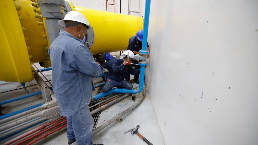 Concluyen satisfactoriamente los trabajos de mantenimiento al Sistema Cutzmala y reinicia su operación