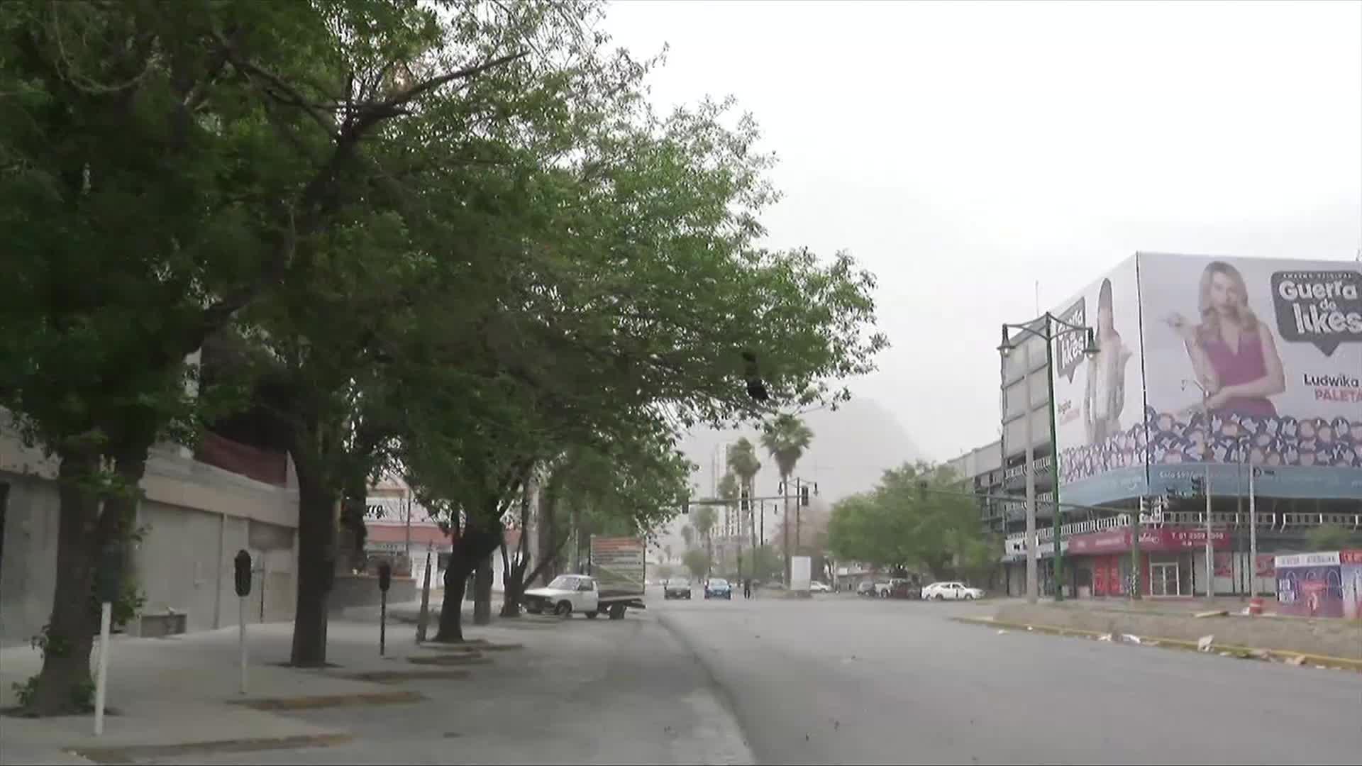 tolvanera afecta calidad del aire en el valle de mexico